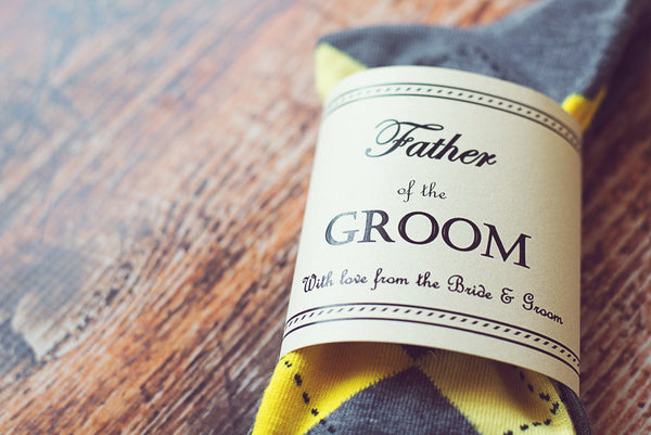 Father Socks Labels