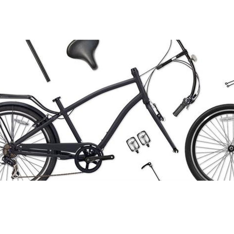 If I Lost The Instructions, How Can I assemble My Cruiser Bike?