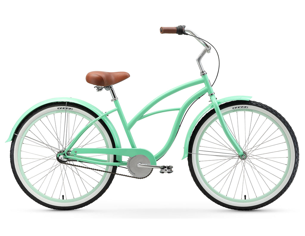 "sixthreezero Serenity Women's 26""  3 Speed Beach Cruiser Bicycle"