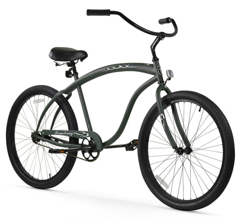 "Firmstrong Bruiser Prestige Single Speed - Men's 26"" Beach Cruiser Bike - Return/Defective/Damaged"