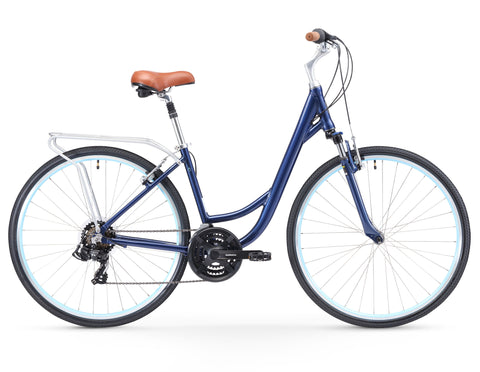 sixthreezero Body Ease Women's 21-Speed Comfort Bike