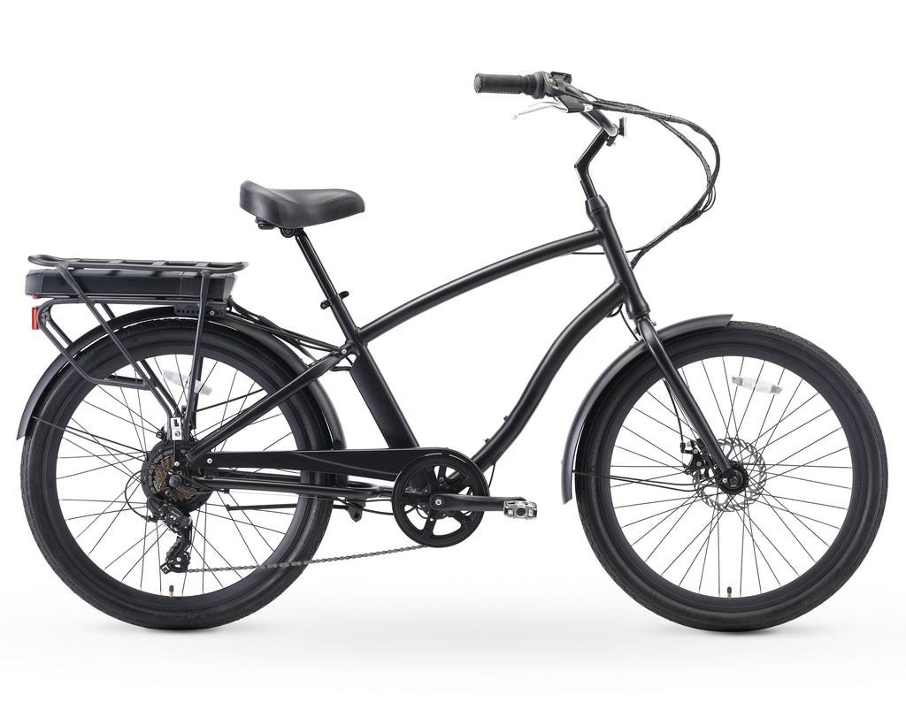 "sixthreezero EVRYjourney Men's 26"" 500W 7 Speed Sport Hybrid Bicycle"