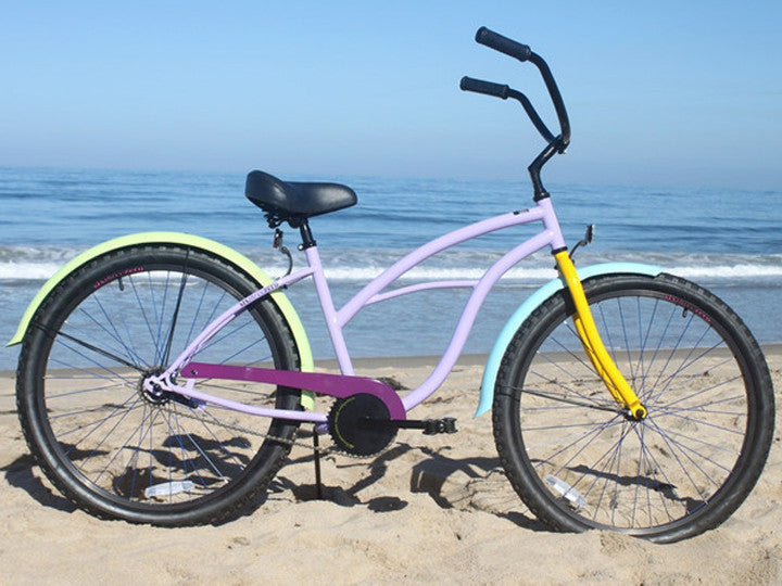 "sixthreezero Wow Breezy  Single Speed - Women's 26"" Beach Cruiser Bike"