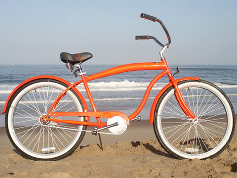"sixthreezero Mammoth Single Speed - Men's 26"" Beach Cruiser Bike"
