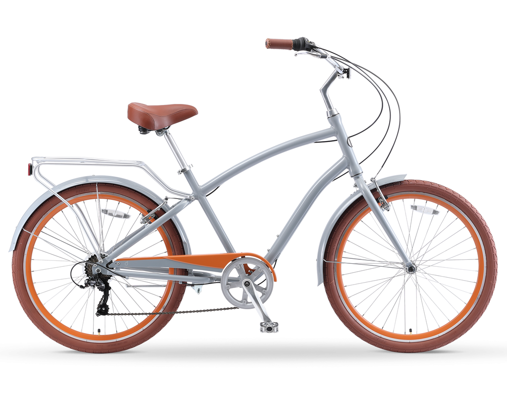 "sixthreezero NEW EVRYjourney - Men's 26"" 7-Speed Sport Hybrid Cruiser Bicycle"