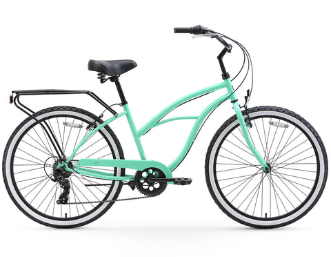 "sixthreezero Around the Block - Women's 26"" 7 Speed Cruiser Bike"