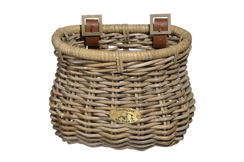 Nantucket Tuckernuck Collection Front Classic Basket - Child Size