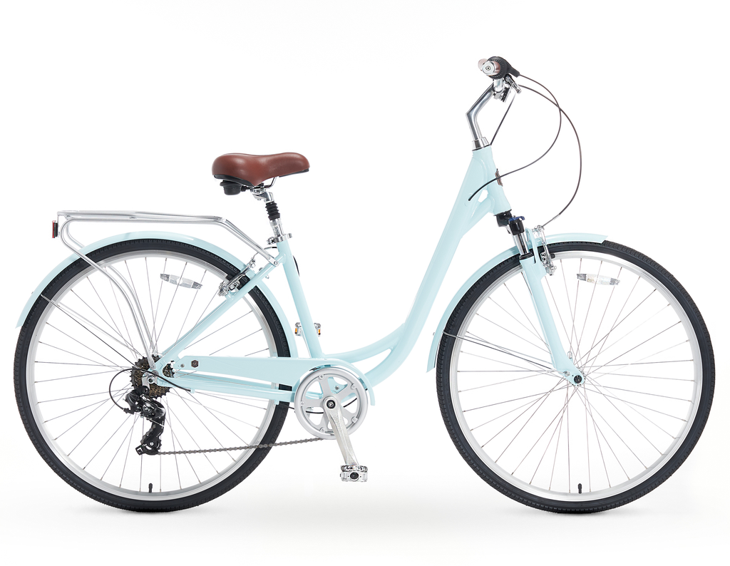 A/O Jackie 7-Speed Comfort Hybrid Bicycle