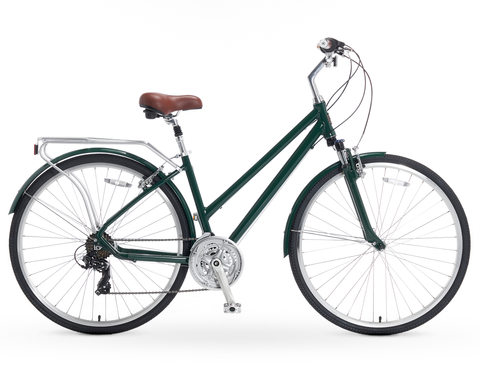 A/O Rosa 21-Speed Hybrid Commuter Bicycle