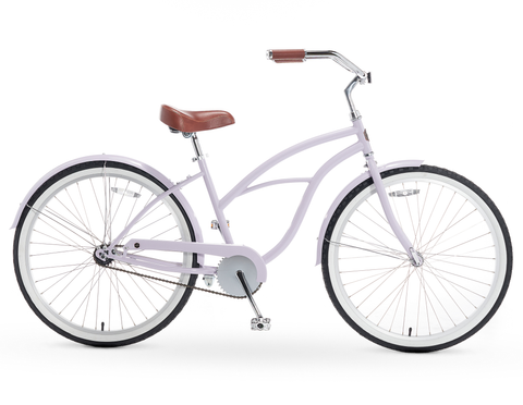 A/O Amelia Single Speed Beach Cruiser Bicycle