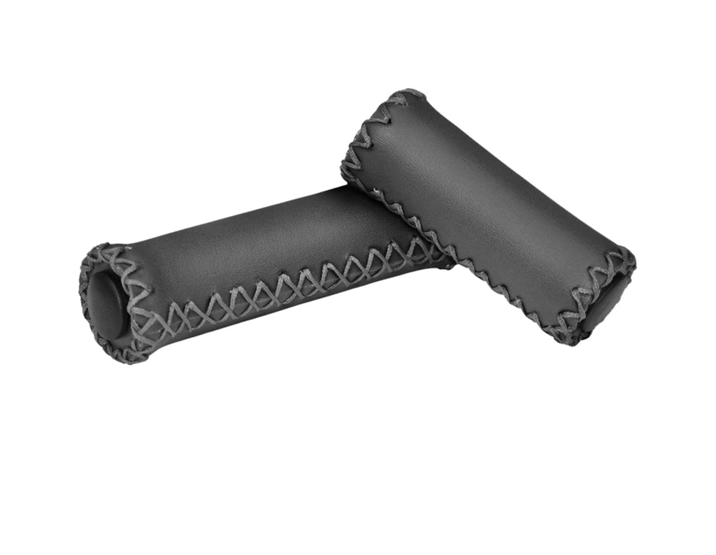 Leather Handlebar Grips - Three Speed