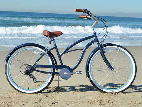 "sixthreezero Classic Edition 7 Speed - Women's 26"" Beach Cruiser Bike"