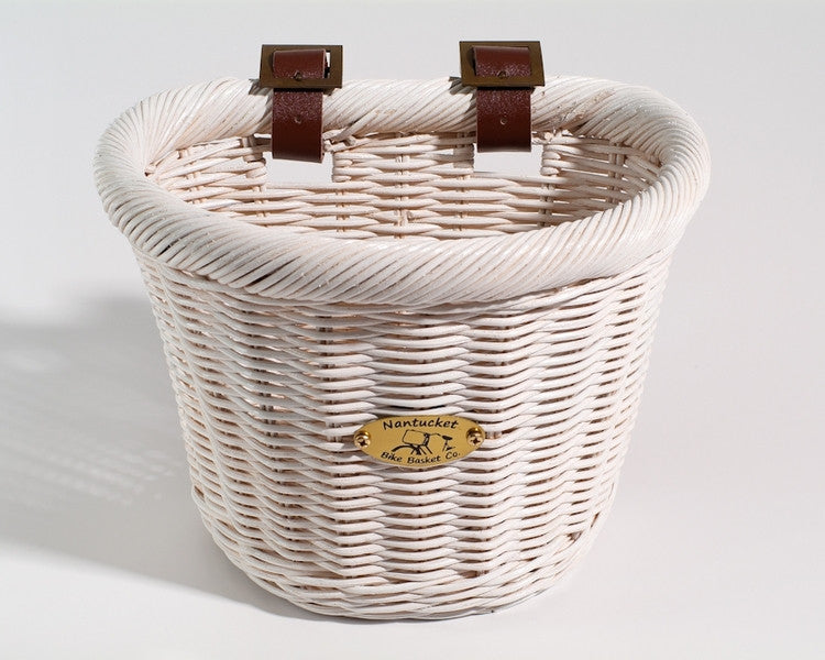 Nantucket Cruiser Collection Front Wicker Basket - Child Size