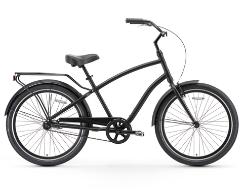 sixthreezero EVRYjourney - Men's 26-Inch Single Speed Sport Hybrid Cruiser Bicycle