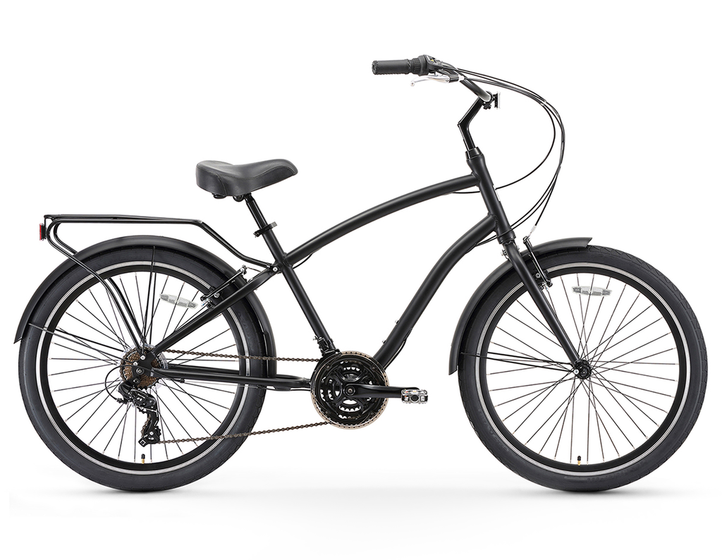 sixthreezero EVRYjourney - Men's 26-Inch 21 Speed Sport Hybrid Cruiser Bike
