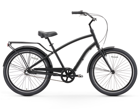 sixthreezero EVRYjourney - Men's 26-Inch Three Speed Sport Hybrid Cruiser Bicycle