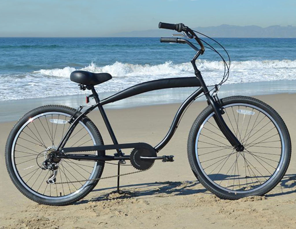 "sixthreezero In The Barrel 7 Speed - Men's 26"" Beach Cruiser Bike"