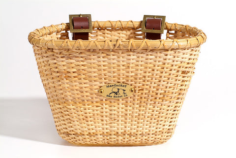 Nantucket Lightship Collection Front Wicker Basket -  Child Size