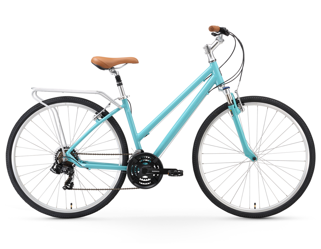 "sixthreezero Pave N' Trail - Women's 26"" 21 Speed Hybrid Bicycle"