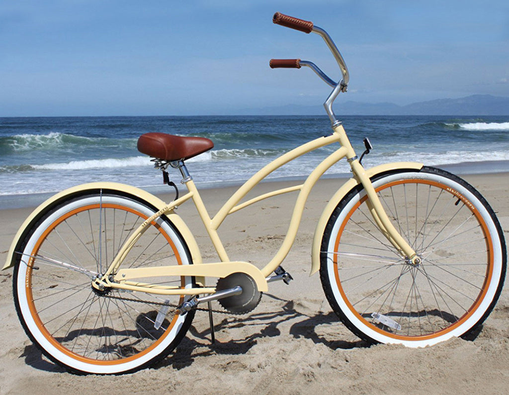 "sixthreezero Scholar Single Speed - Women's 26"" Beach Cruiser Bike"