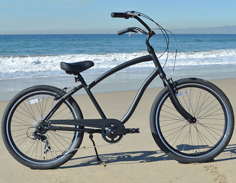 Sixthreezero EVRYjourney   Menu0027s 26 Inch 7 Speed Sport Hybrid Cruiser  Bicycle
