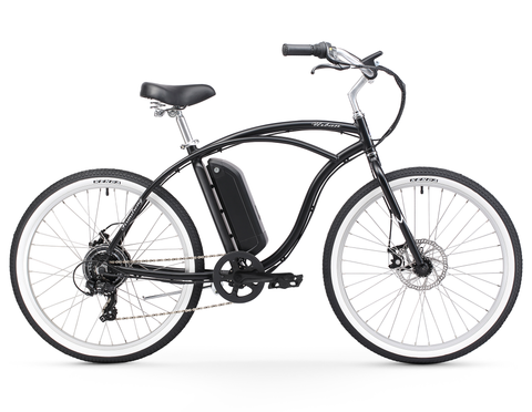 "Firmstrong Urban Man 26"" 350W Seven Speed Beach Cruiser E-Bicycle"
