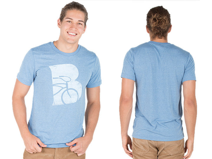 Beachbikes Tri-Blend Men's T-Shirt