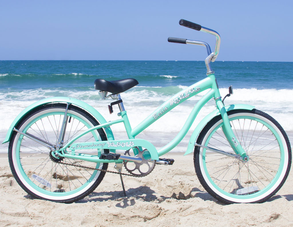 "Firmstrong Bella Classic Girl 20"" - Beach Cruiser Bicycle"