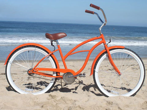 "sixthreezero Dreamcycle Single Speed - Women's 26"" Beach Cruiser Bike"