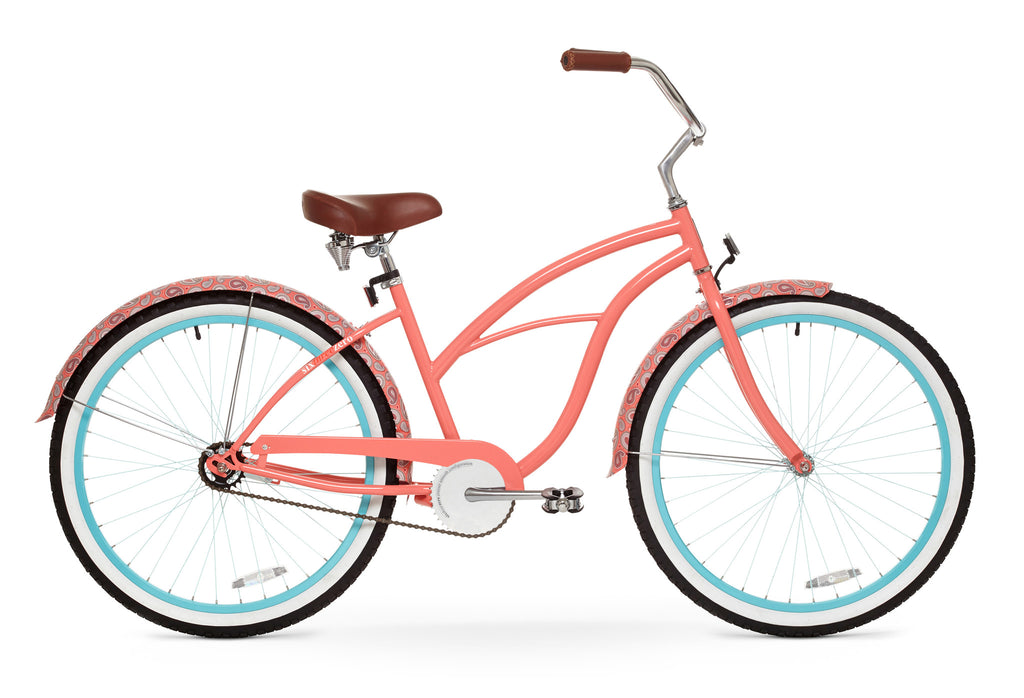 best paisley woman single speed coral pink sand beach
