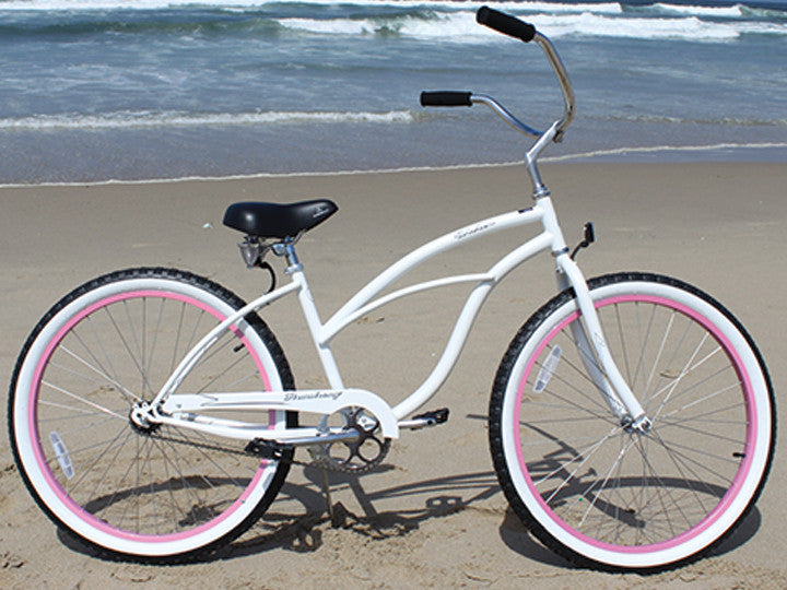 "Firmstrong Urban Lady Limited Single Speed - Women's 26"" Beach Cruiser Bike"