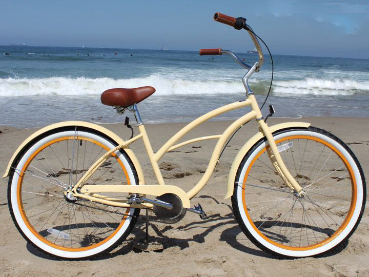 "sixthreezero Scholar 3 Speed - Women's 26"" Beach Cruiser Bike"