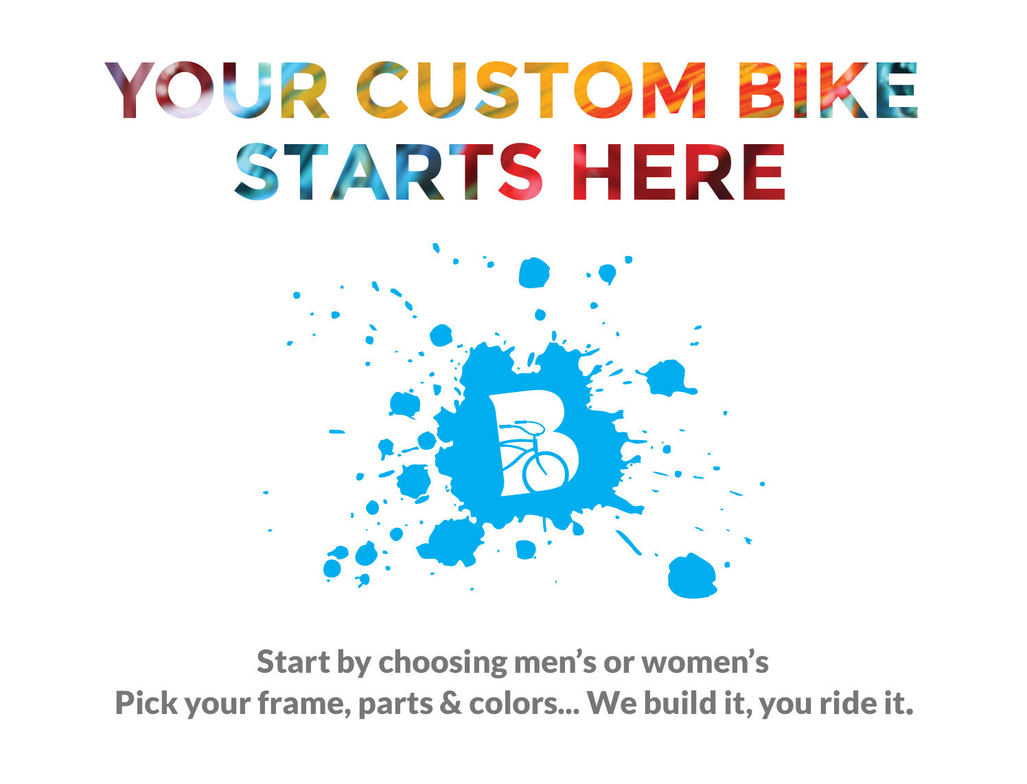 Create Your Custom Beach Bike