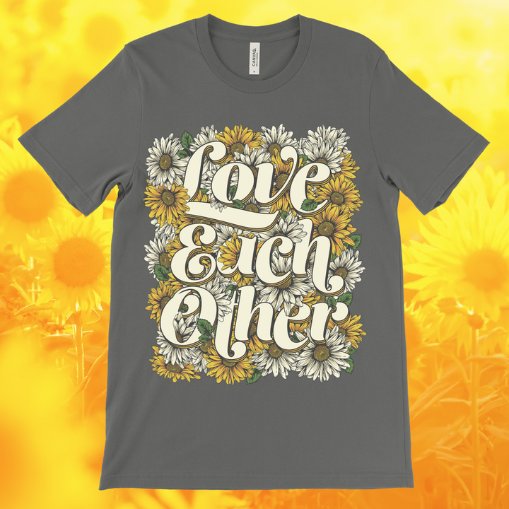 Love Each Other Unisex Tee (60% OFF)