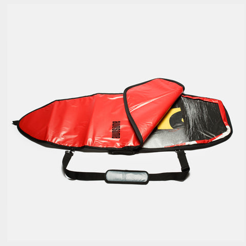 5'4 Awesome x The Progress Project Boardbag - Red