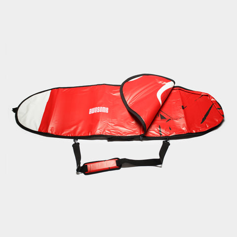 6'0 Awesome x The Progress Project Boardbag - Red