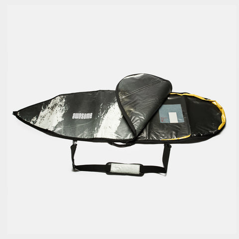 6'1 Awesome x The Progress Project Boardbag - Grey