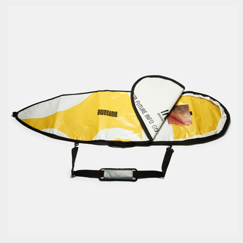 6'1 Awesome x The Progress Project Boardbag - Yellow