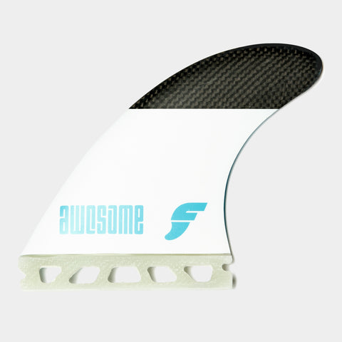 Awesome Futures Fins Black & White - 5-Fin Set
