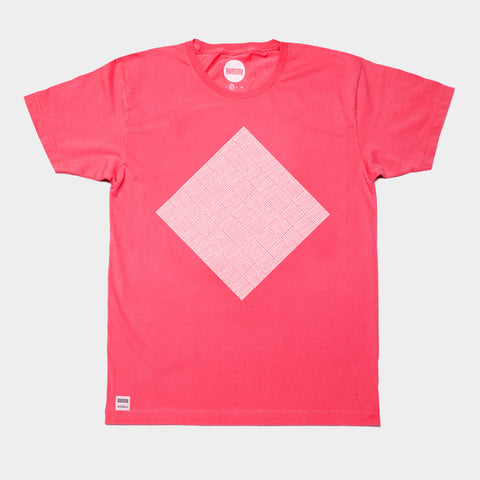 Awesome T-shirt Pattern Diamond - Red