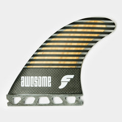 Awesome Futures Fins Bamboo Stripes - 5-Fin Set