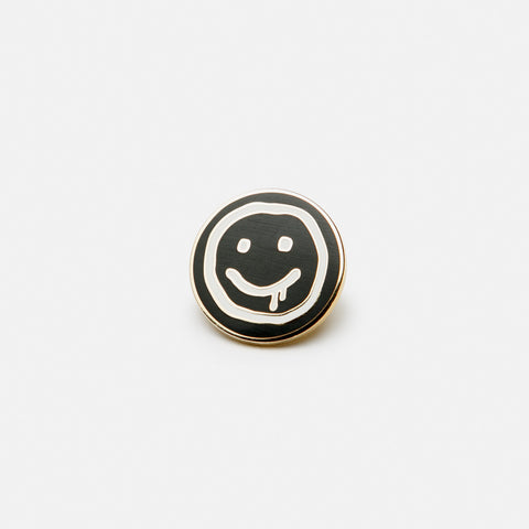 Awesome Smiley Pin
