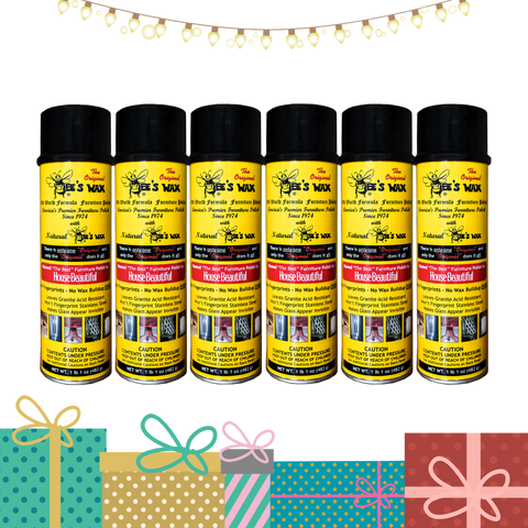 The Original BEE'S WAX Old World Formula Furniture Polish | 6 Pack | SHIPPING INCLUDED