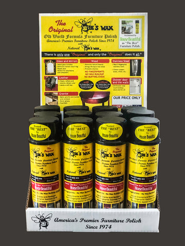 The Original BEE'S WAX FURNITURE POLISH > Display