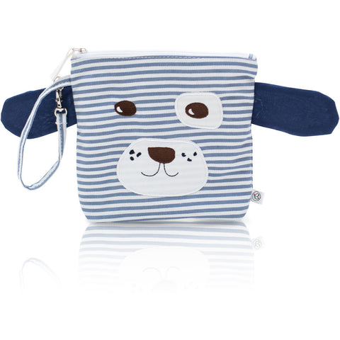 "My First Buddy Snack Bag - Cotton Blue Doggy ""Scout"""