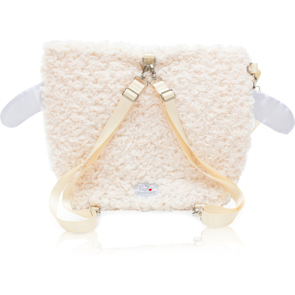 "Forever Young Wet + Dry Backpack (Small)- Plush Lamby ""Lulu"""