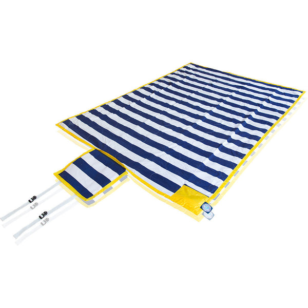 "Brilliant Blanket: ""Limited Edition"" Game Day - Navy/Gold"