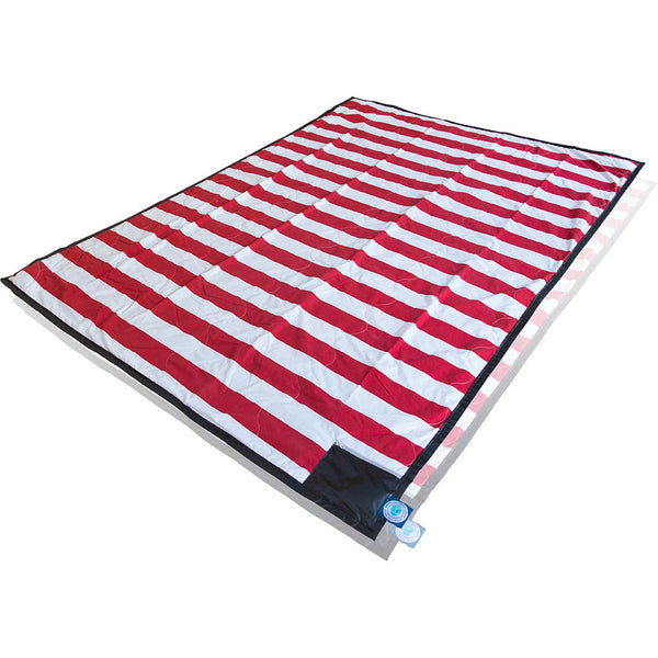 "Brilliant Blanket: ""Limited Edition"" Game Day - Red/Black/Silver"