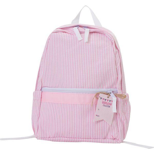 Seersucker Mini Backpack