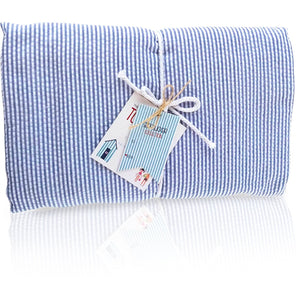 Seersucker Towel-Ket - Blue